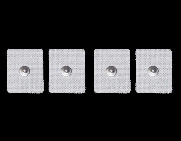 Einweg Klebeelektrode Tens-Elektrode 35x45mm mit Druckknopf